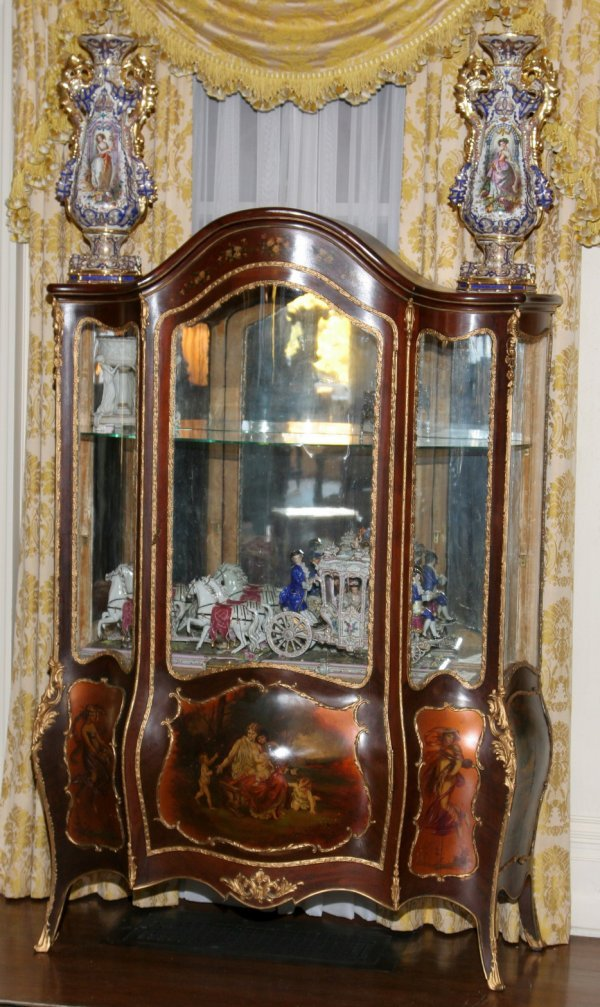 148: Louis XV Style China Cabinet