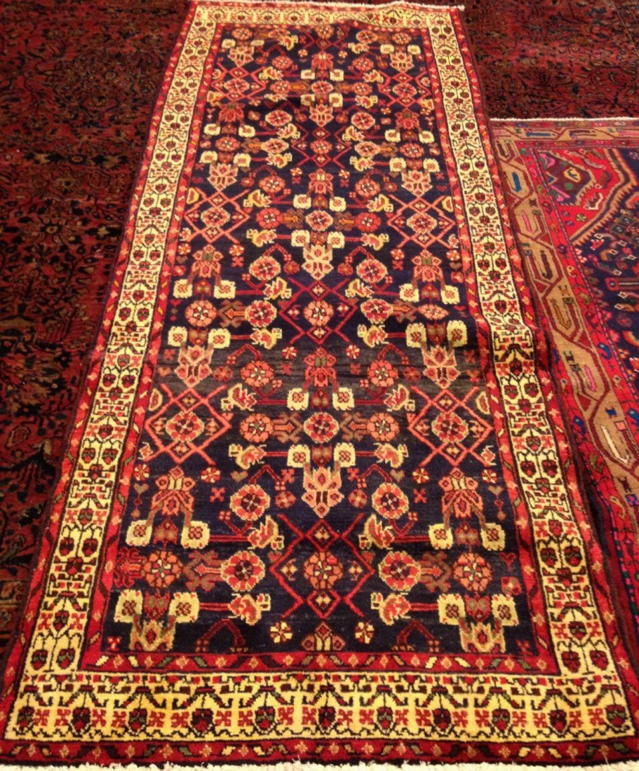 7: Semi Antique Handmade Persian Runner