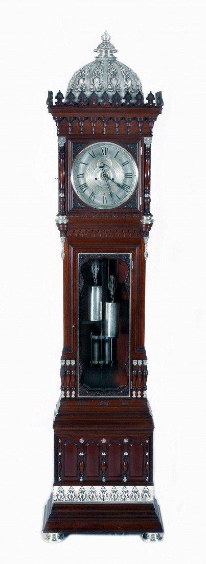 250: Extremely Rare Tall Clock Made by Tiffany & Co.