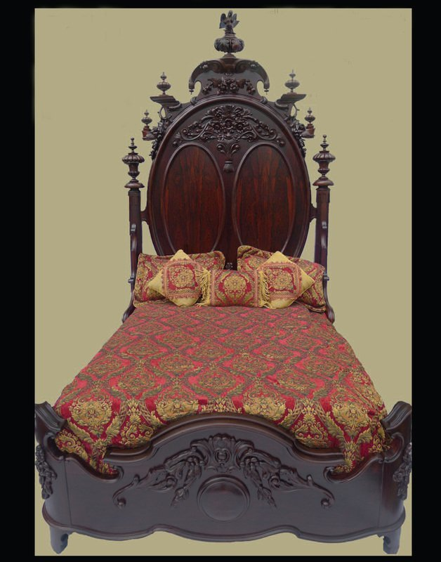 The Ultimate of all Rosewood Beds Signed Mitchell and