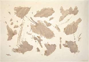 GIULIO TURCATO, senza titolo, c. 1975