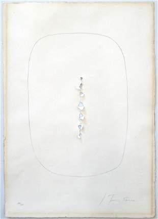 LUCIO FONTANA, Concetto spaziale, 1965