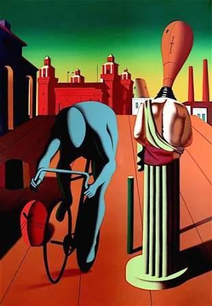 MARK KOSTABI, Omaggio al Giro, 2003