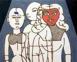 CONCETTO POZZATI, I manichini del pittore, 2002