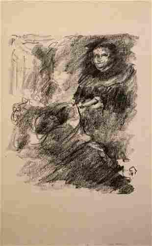 LOVIS CORINTH, Martin Luther, 1920