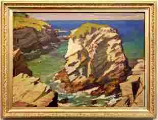 Louis Sargent (1881-1965) Porth, Newquay