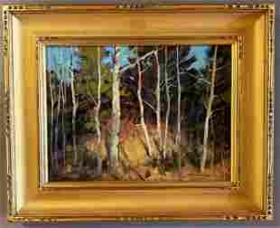 Bernard Corey (1914-2000) The Little Forest