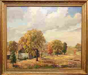 "Jacob Greenleaf (1887-1968)""New England Autumn"""