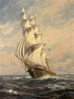 """William Paskell (1866-1961)""""The Clipper"""""""