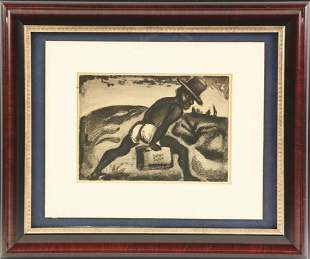 Georges Rouault - 1928 Etching (1871-1958)