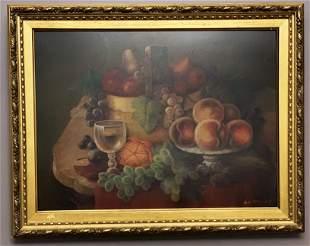 "S.W. Steward (1844-1927)""Table of Fruit"""