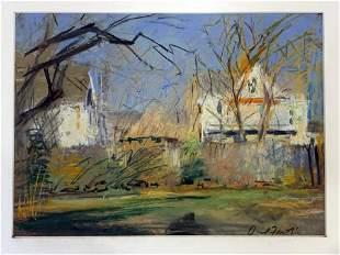 David Fertig (Born 1946) Houses & Fences