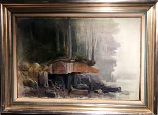 "Adolf Konrad (1915-2003)""The Ledge"""
