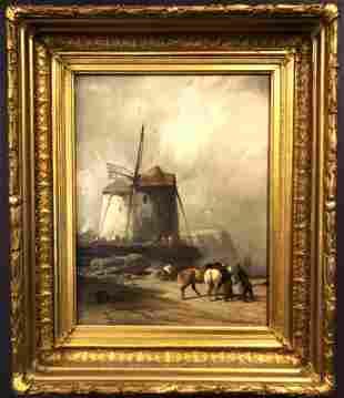 Franklin Briscoe (1844-1903) The Windmill