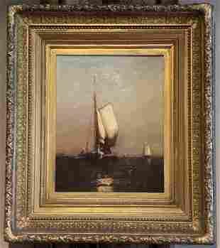 Arthur Quartley (1839-1886) Open Sailing, 1880