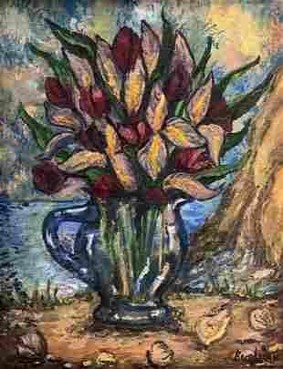 David Burliuk (1882-1967)Shelly Bouquet