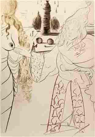 Salvador Dali - La Femme Adultere - 109/150 Signed