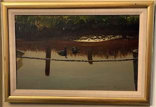 Stephen Etnier (1903-1984) -MORNING - Oil Painting