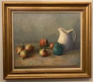 Robert Brackman (1898-1980) Fruit Demonstration