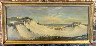Ephriam Frank Lincoln - The Cape of Dunes - Framed Oil