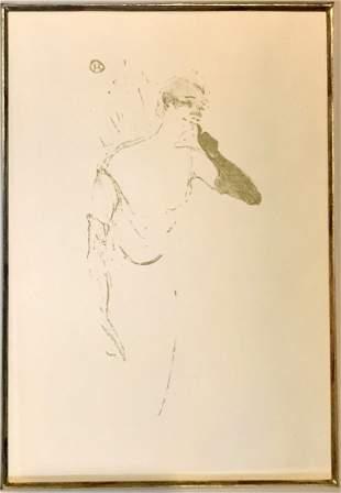 Henri De Toulouse-Lautrec (1864-1901)Columbine Pierrot