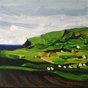 Alfred (Chip) Chadbourn (1921-1998)Irish Landscape 1984