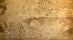 Giovanni Paolo Panini (1691-1765) Signed, C. 1736-1742