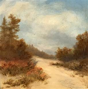 Earl Howell Reed (1863-1931) Indiana Dunes 1930