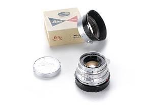 Leitz Summicron 35mm f/2 chrome 11308 SAWOM