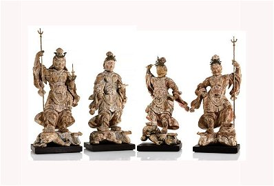 Muromachi period Japanese Four Heavenly Kings