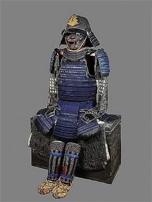 Fine Samurai Armor - Kiritsuke Kozane 2-mai Dou gusoku