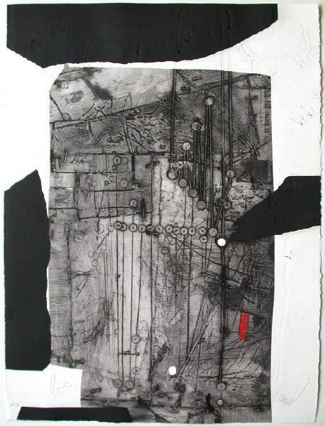 1005: Antoni Clave signed etching