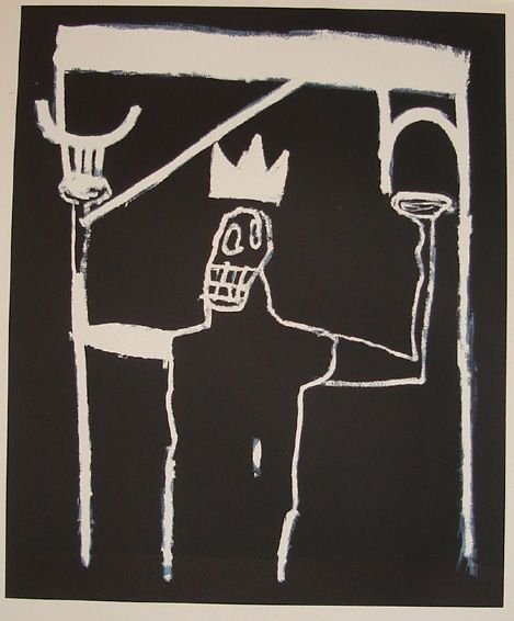 1019: Basquiat lithograph