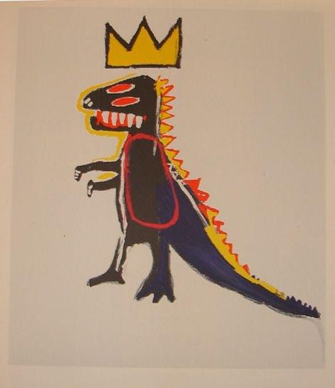 1020: Basquiat lithograph