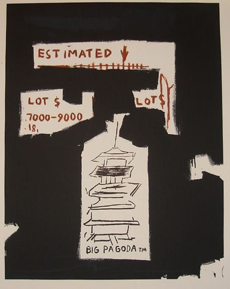1021: Basquiat lithograph