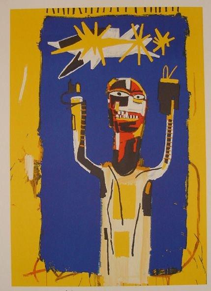 1022: Basquiat lithograph