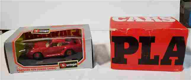 Porsche 959 Turbo (1986) by Burago and Janurary 1981