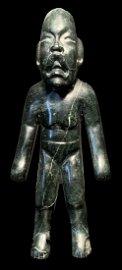 Large Jade Ancestor Figure, Olmec La Venta (900-600 BC)