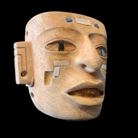 Important Pre-Colombian Teotihuacan Mask (250-450 AD)
