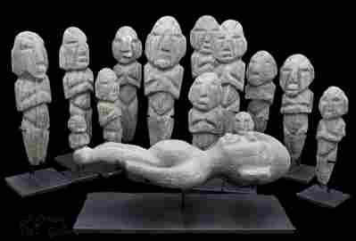 Important Pre-Classic Mayan Camahuile Burial c. 300 BC