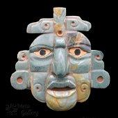 Large Mayan Mosaic Mask (400 BC - 200 AD)