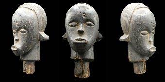 Fang Reliquary Head (19th c.) Gabon, Africa