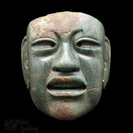 Large Olmec Jade Mask (900-600 BC)