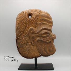 Mayan Old Man God Hacha (200-800 AD) COA -Dr. Preusser