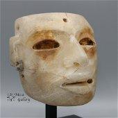 Teotihuacan Alabaster Mask (250-450 AD)