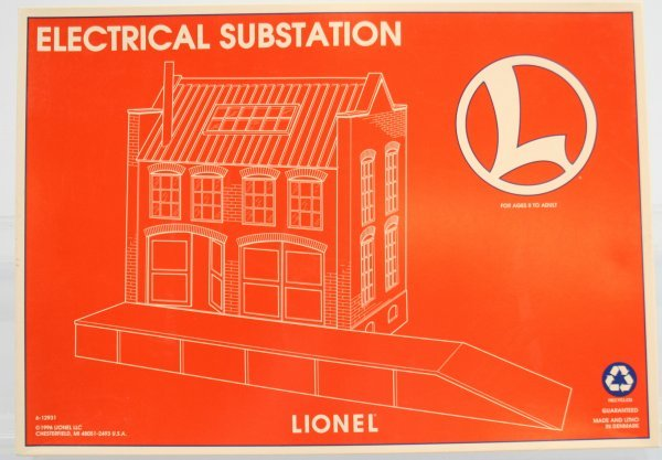 6: LIONEL ELECTRICAL SUBSTATION