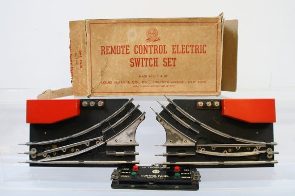 210: Marx Remote Control Electric Switch Set