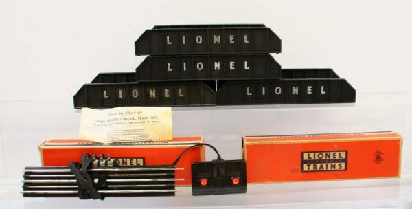 223: Lionel Two Remote Control Track Sets & 4 Girder Br