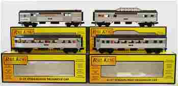 298: MTH 4 Pennsylvania Passenger Cars - Like New in Bo
