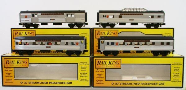 298: MTH 4 Pennsylvania Passenger Cars - Like New in Bo